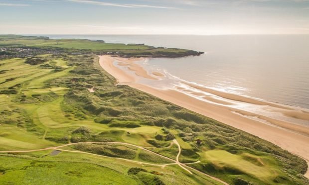 Cruden Bay's championship course was designed by Old Tom Morris and Archie Simpson.