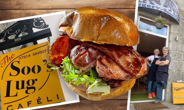 The Soo's Lug specialises in quality bacon rolls.