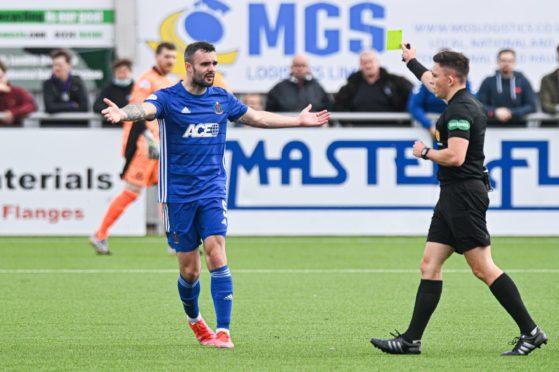 Cove Rangers defender Scott Ross.