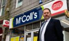 """Douglas Lumsden previously described post office branches as a """"lifeline"""" when a wave of city branches in Aberdeen were announced in June. . Wullie Marr / DCT Media"""