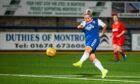 Aimee Ridgeway scores her eighth hattrick of the season against Dundee West