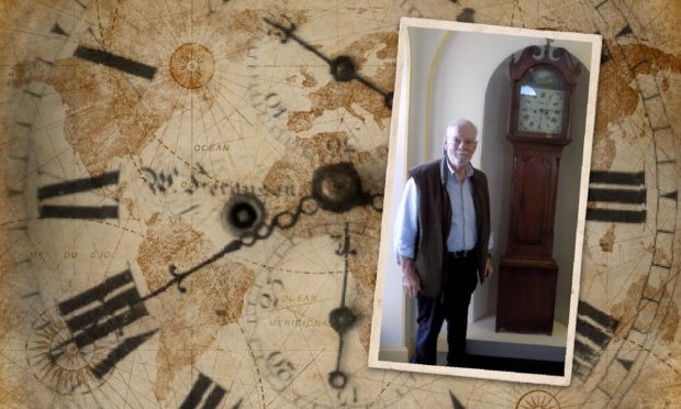 Elgin made grandfather clock that survived an earthquake has been donated to Elgin Museum.