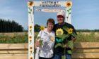 St Fittick Rotary Club president Alastair Robertson and club secretary Sheena Anderson