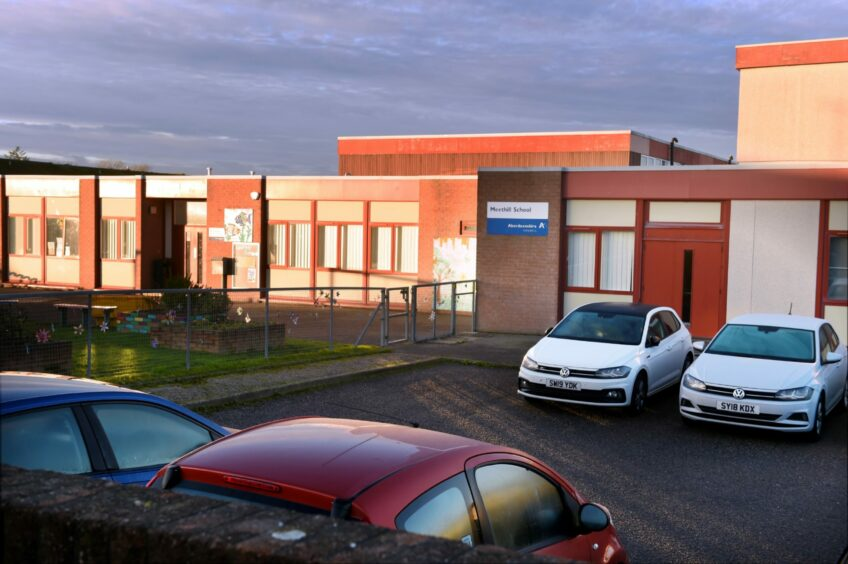 Meethill School in Peterhead.