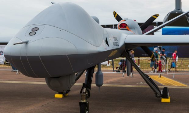 Protector is due to make test flights from RAF Lossiemouth. Photo: Shutterstock