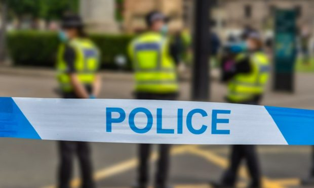 Police were called to the scene at around 9.55am on Monday.