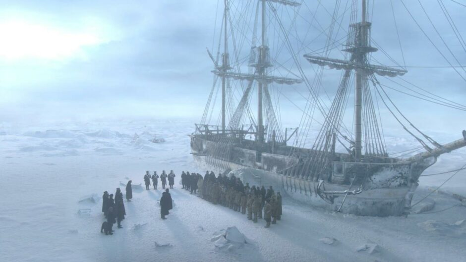 """Dr John Rae investigated the doomed Franklin expedition, portrayed in """"The Terror""""."""