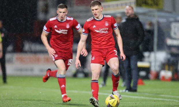 Aberdeen full-back Jack MacKenzie.