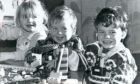 Aberdeen Deaf Centre 1992 Lego Life: New intake pupils at Aberdeen School for the Deaf, (from left), Alex Fraser, Leona Glennie and Andrew Tripp have fun with building bricks.