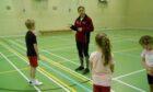 Rachel Watson coaching.