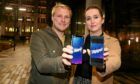 Chris Angus, left, and partner Nicola Lawson have launched Digiipot