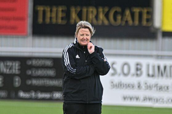 Aberdeen Women co-manager Emma Hunter.