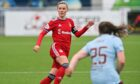 Loren Campbell captained the Dons against Hearts