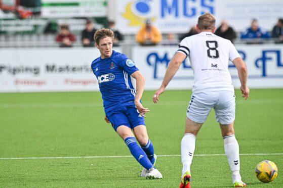 Cove Rangers midfielder Blair Yule.