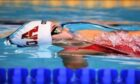 Aberdeen swimmer Yasmin Perry in the pool.