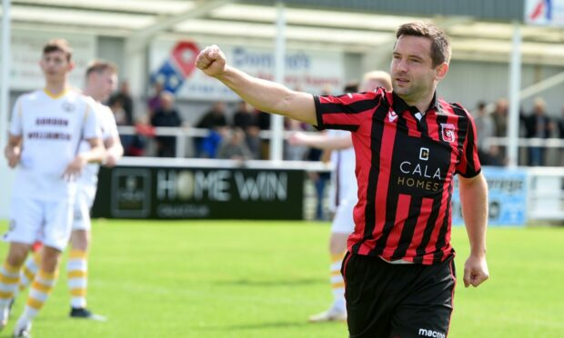 Inverurie Locos striker Neil Gauld has scored in their last two Highland League games