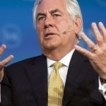 Top UN climate change official left waiting by US sec of state Rex Tillerson