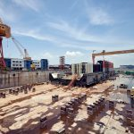 Exclusive Video: Maersk's Culzean FSO takes shape in Singapore