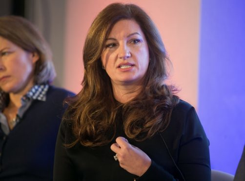 The Apprentice's Karren Brady urges men to 'force the BBC