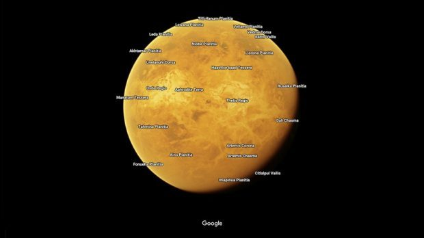 You can now explore moons and planets with Google Maps