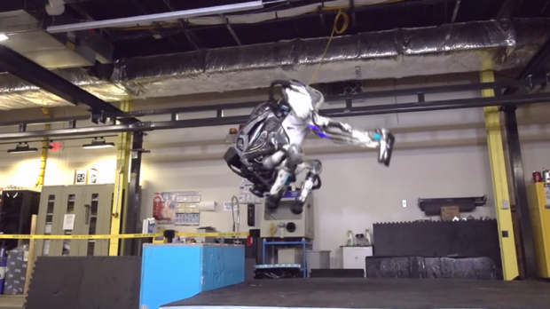 Boston Dynamics' Atlas robot is now so agile it can do backflips