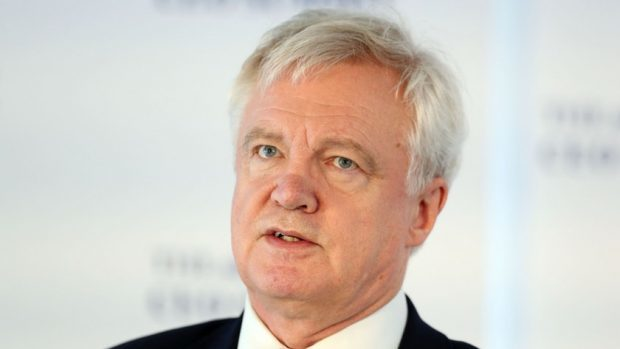 Brexit: May's European Union deal not binding, says David Davis