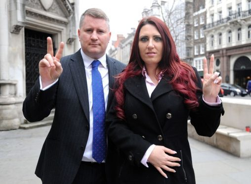 Britain First members suspended from Twitter