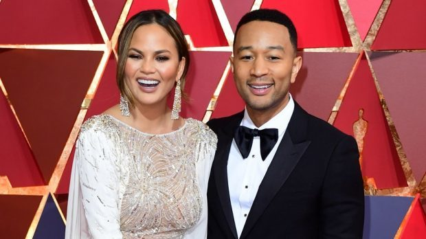 Chrissy Teigen And John Legend Arrive In Tokyo Following Flight Drama