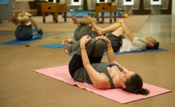 Hot yoga's high temperature may not have any health benefits
