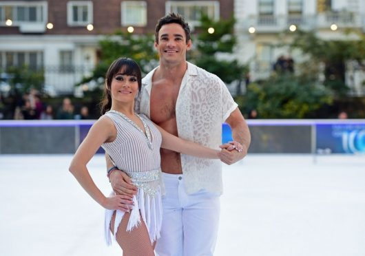 Dancing On Ice professional hospitalised after fall
