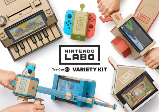 Nintendo Labo transforms Switch into a cardboard toybox