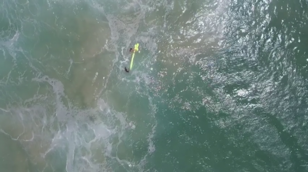 Australian Lifeguards Make World's First Drone Rescue Within Minutes