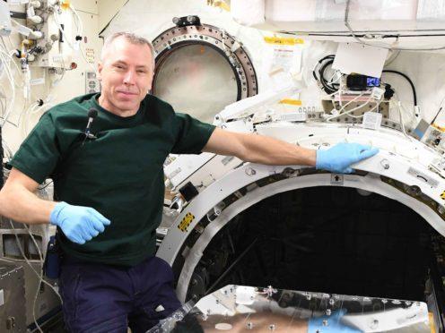 Nasa astronaut Ricky Arnold (Nasa/Airbus)