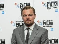 Leonardo DiCaprio has shared the first glimpse of himself and Brad Pitt in Once Upon A Time In Hollywood (Matt Crossick/PA)