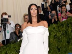Kim Kardashian West has discussed the moment she told Alice Marie Johnson she would be released from prison (Aurore Marechal/PA)