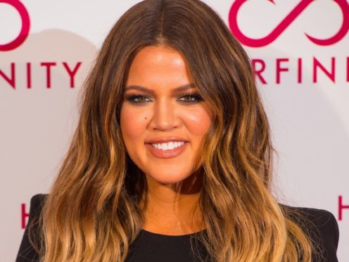Khloe Kardashian was impressed by a Madame Tussauds statue made in her image (Dominic Lipinski/PA)