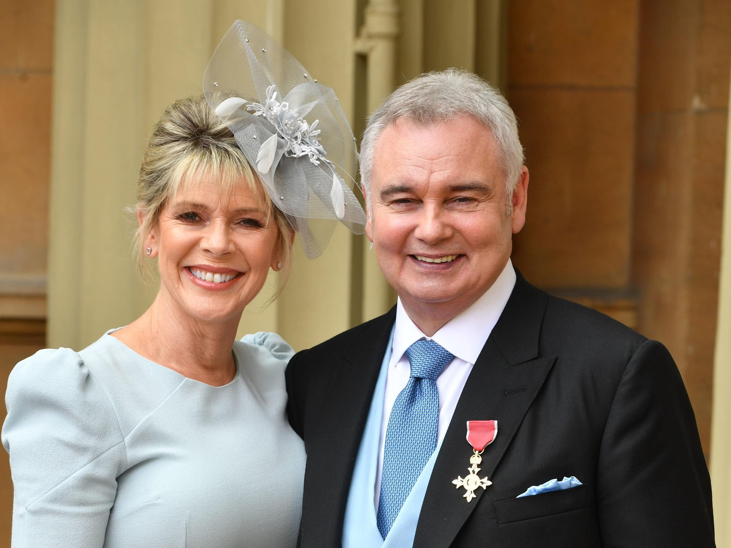 Ruth Langsford sends sweet message to Eamonn Holmes as he collects OBE from Buckingham Palace
