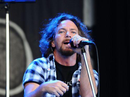 singer Eddie Vedder has lost his voice (Ian West/PA)