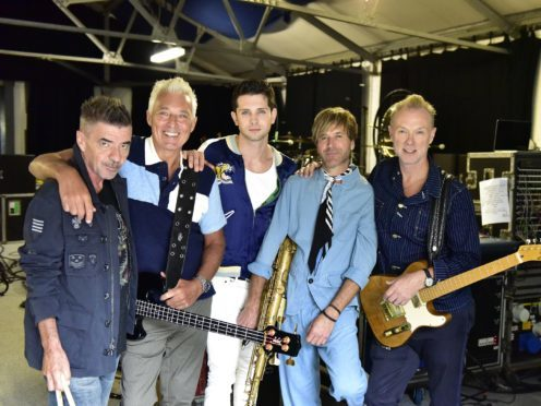 aberdeen singer ross william wild introduced as new spandau ballet frontman at london show. Black Bedroom Furniture Sets. Home Design Ideas