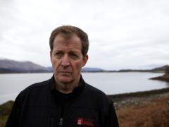 Alastair Campbell said he wanted to 'get out there' to see what progress had been made (BBC)