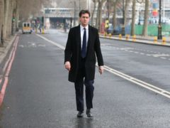 Former Labour party leader Ed Miliband (Jonathan Brady/PA)