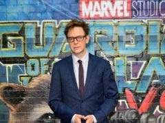 James Gunn has been fired by Walt Disney Studios (Ian West/PA)