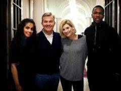 Doctor Who stars Mandip Gill and Tosin Cole have praised the show's diversity (Chris Chibnall/BBC)