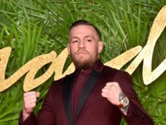 Conor McGregor's girlfriend has revealed she is expecting their second child (Matt Crossick/PA)