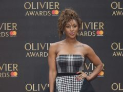 Alexandra Burke is joining the West End production of Chicago as Roxie Hart (Isabel Infantes/PA)