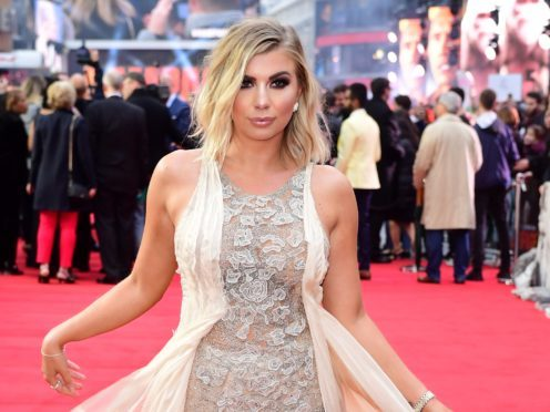 Olivia Buckland was on Love Island with Sophie Gradon (PA)