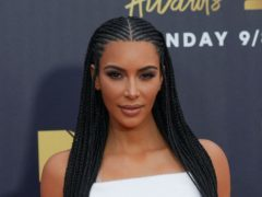Kim Kardashian West shared an adorable video of her two daughters (Francis Specker/PA)