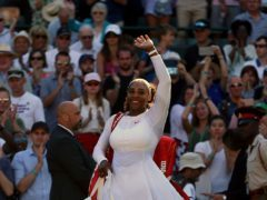 Serena Williams (Nigel French/PA)