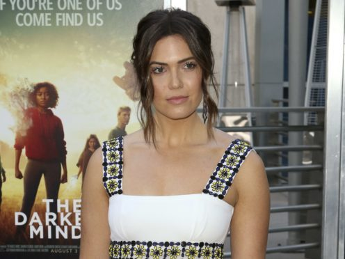 Mandy Moore has said her latest film, The Darkest Minds, has a message of 'hope and tolerance' (Willy Sanjuan/Invision/AP)