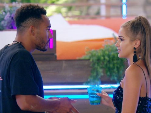 Georgia and Josh's angry exchange after Love Island recoupling. (ITV)